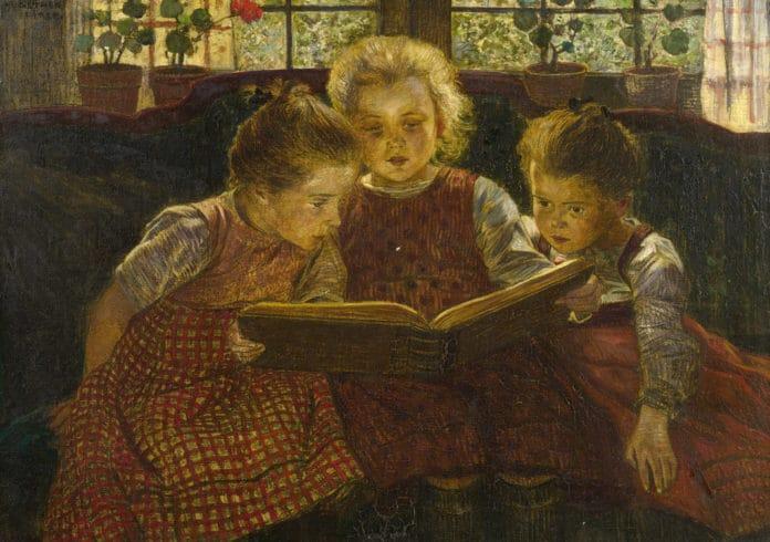 'The fairy tale', una obra de Walter Firle
