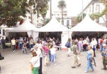 Aspecto de la XXIX Feria del Libro de Las Palmas de Gran Canaria