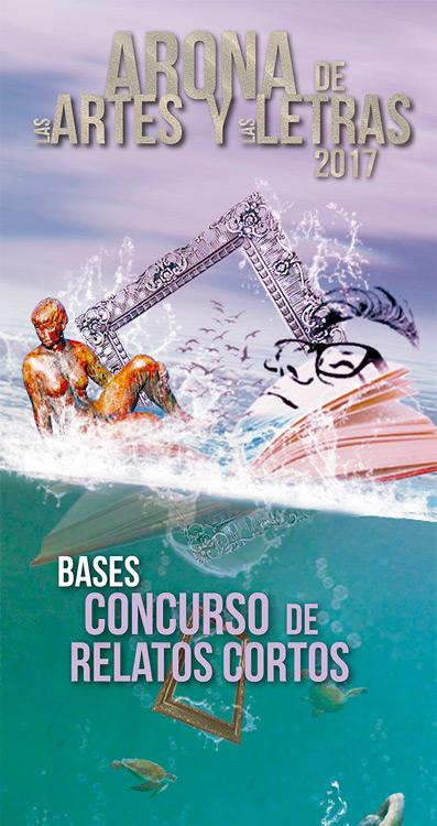 Cartel del concurso Arona de las Artes y las Letras