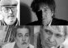 Alfonso O'Shanahan, Rafael Cadenas, Manuel Díaz Martínez y Bob Dylan