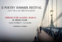 Cartel del 'II Poetry Summer Festival'