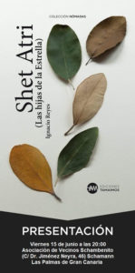'Shet Atri', de Ignacio Reyes